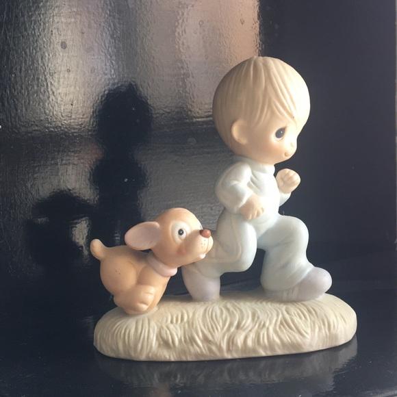 God's Speed Precious Moments figurine